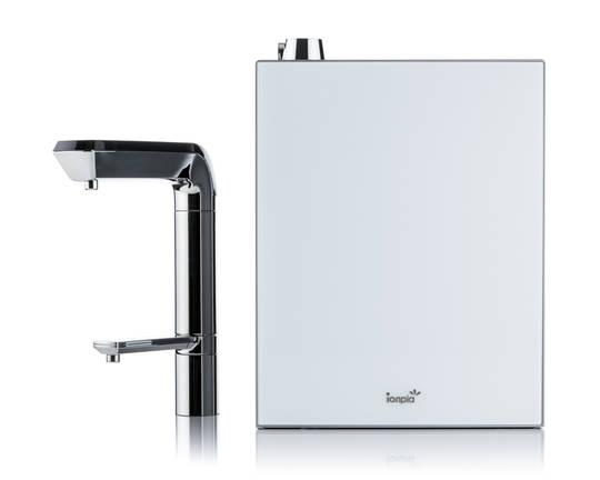 AquaVolta Elegance Untertisch Wasserionisierer mit Bedienhahn