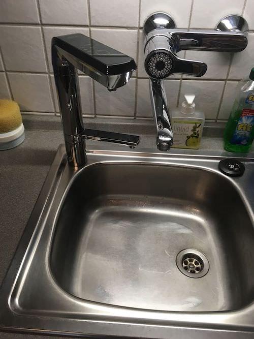 Elegance Wasserionisierer untertisch Installiert Blechspüle