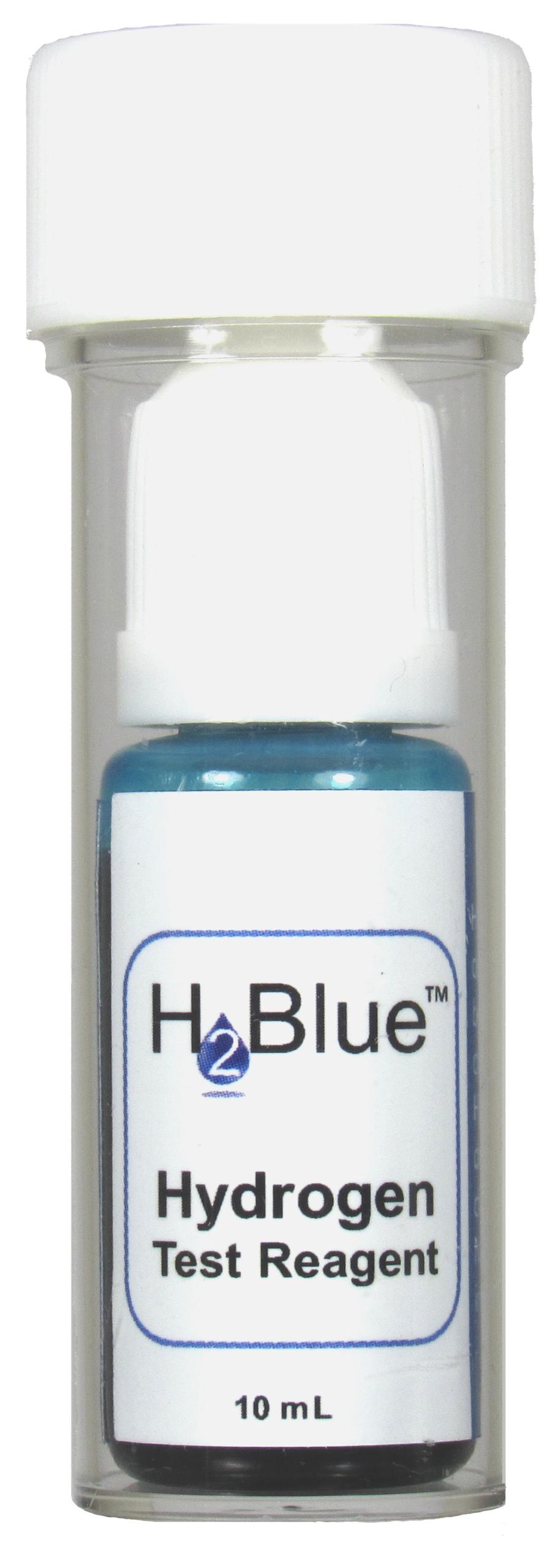H2 Blue Kit Wasserstoff-Testfluessigkeit im Messbecher