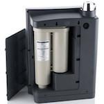 AquaVolta® Elégance Untertisch Wasserionisierer Innensicht Filterpatronen 150