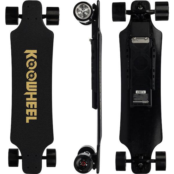 Koowheel 25-7 Electric Skateboard with Hub-Motors and external battery 600