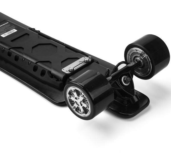 Koowheel 25-7 Electric Skateboard with Hub-Motors from bottom 600
