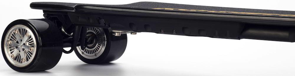 Koowheel 25-7 Electric Skateboard with Hub-Motors from side 1000