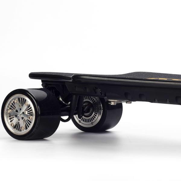 Koowheel 25-7 Electric Skateboard with Hub-Motors from side q 600