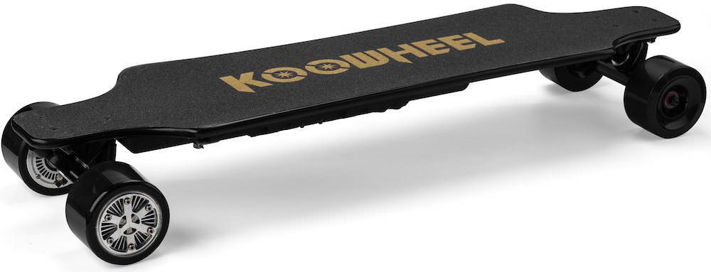 Koowheel 25-7 Electric Skateboard with Hub-Motors from side top 22 1000