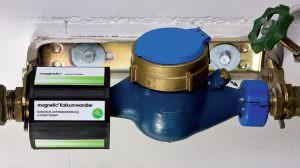 Magnetic Kalkumwandler Monatge 1