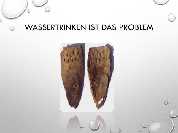 01-Wassertrinken ist das Problem
