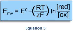Zusammenhang zwischen dem geloesten H2 - ph-Wert und Redoxpotential Oxidation und Reduktion Equation 5