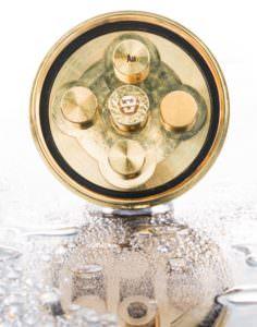 Aquadea Gold Duschwirbelbrause Kopf 5 Wirbelkammern