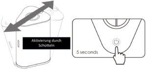 AquaVolta Vortex Booster Inhalator Inbetriebnahme 4