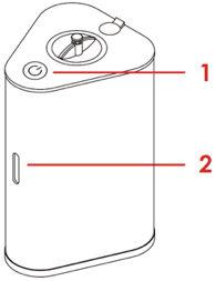 AquaVolta Vortex Booster Inhalator Diagram 1 2
