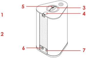 AquaVolta Vortex Booster Inhalator Diagram 3 7