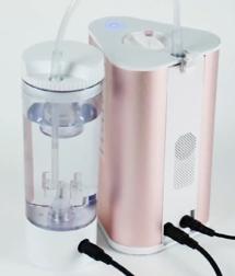 AquaVolta Vortex Booster Inhalator Flasche und Infusor Modul