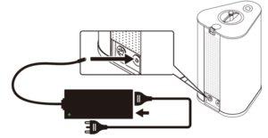 AquaVolta Vortex Booster Inhalator Inbetriebnahme 2