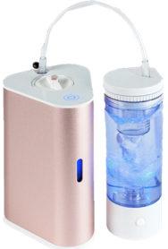 AquaVolta Vortex Booster Inhalator Wirblerflasche Gold