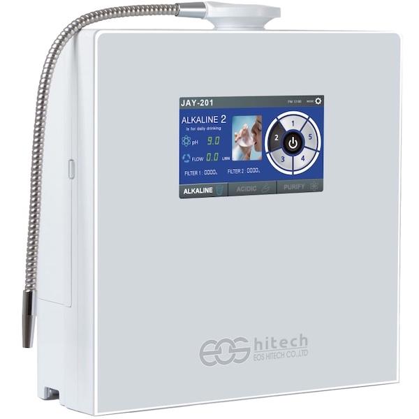 AquaVolta EOS Touch 201 Wasserionisierer basisches Wasserstoffwasser 600