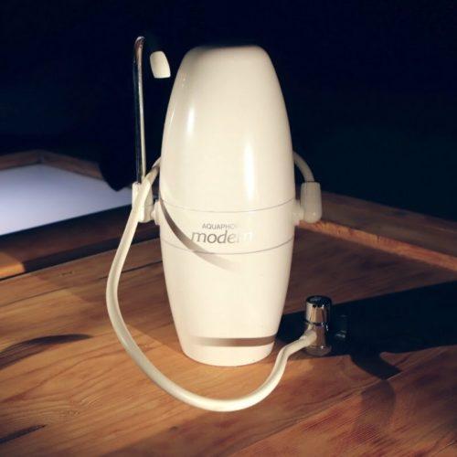 Aquaphor Modern Auftischfilter Aktivkohle mit Umschaltventil - 6