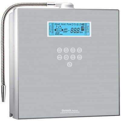 AquaVolta EOS Genesis Wasserionisierer - Wasserfilter - Herstellung basiches Wasserstoff Wasser 400