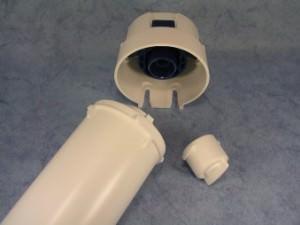 Aquaphor Blindstopfen ueberbrueckung mono filterkopf
