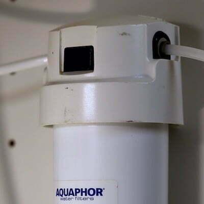 Aquaphor-K7B-QuickChange-Filter Untertisch montiert 400