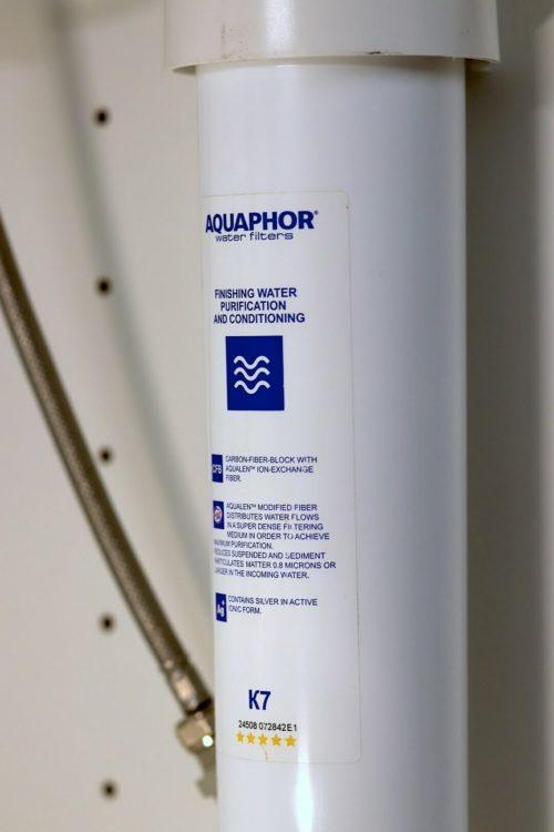 Aquaphor K7B QuickChange Filter im Küchenunterschrank 1 1080
