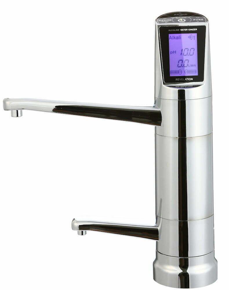 EOS Revelation II Untertisch Wasserionisierer Bedienhahn Wasserionisierer Basisches Wasser 1000