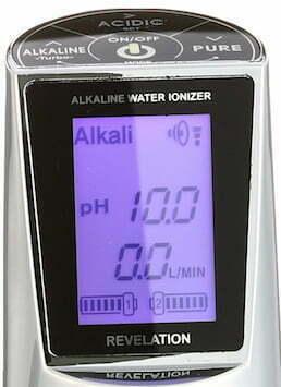 AquaVolta EOS Revelation Bedienhahn Wasserionisierer Display