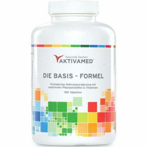 Aktivamed - Die Basis Formel - Nahrungserganzung 600