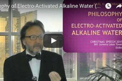 Philosophy of alkaline reduced hydrogen rich water-karl Heinz Asenbaum