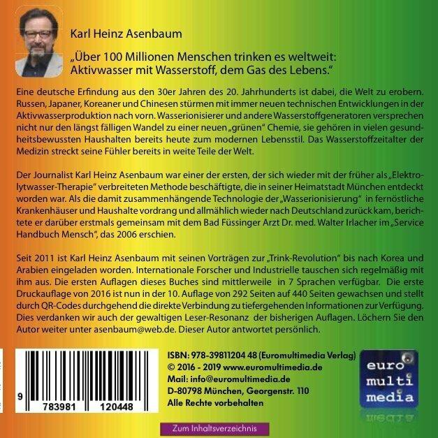 Karl Heinz Asenbaum Elektroaktiviertes Wasser Rueckseite 600