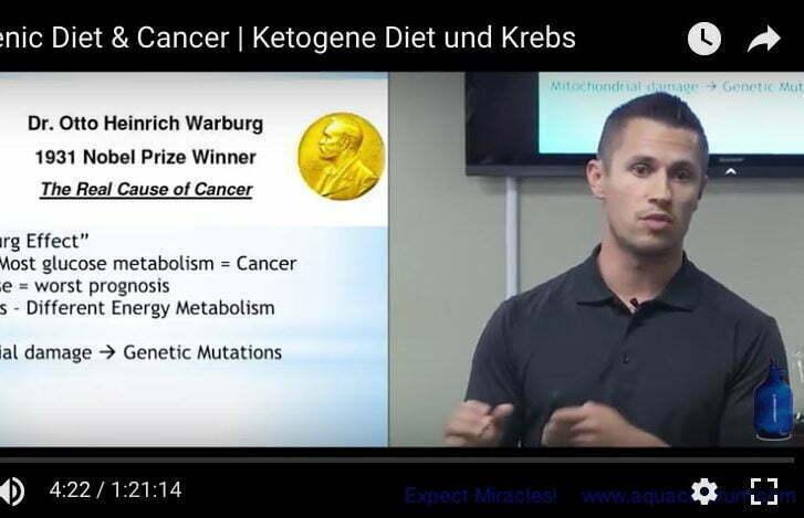Die Ketogene Diät und Krebs - Dr Michael VanDerschelden