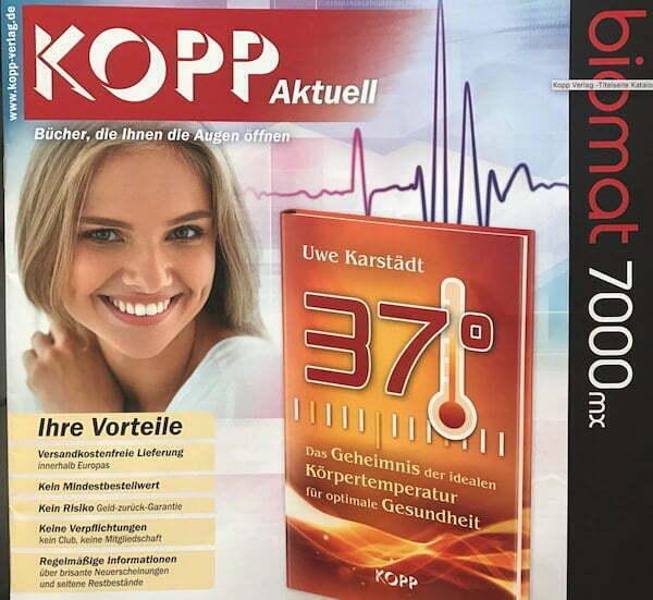 Kopp Verlag - titelseite Katalog 03-2017- 37 Grad - Die ideale Koerpertemperatur - Uwe Karstaedt 400