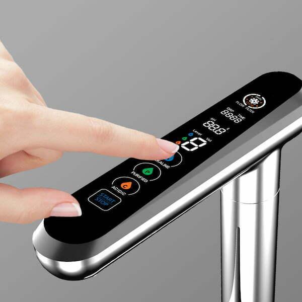 AquaVolta Elegance Untertisch Bedienhahn finger 600