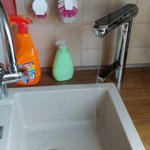 Exquisite Untertisch Wasserionisierer Bedienhahn installiert q