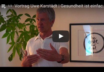 Gesundheit ist einfach - Vortrag Uwe Karstaedt im Aquacentrum Mai 2017