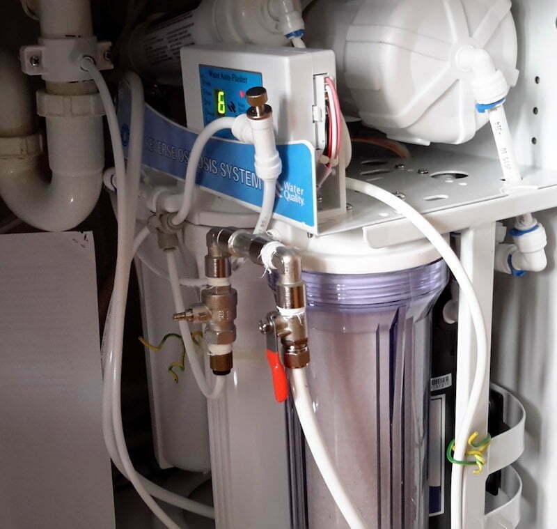 Ionquell Standard - Wasserionisierer - vorgeschaltete Umkehrosmose-Anlage mit Verschnitt Leitungswasser