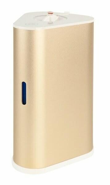 AquaVolta H2-Inhalator gold u H2-Infusor - Wasserstoff Inhalation u H2-Getraenke mixen p 600