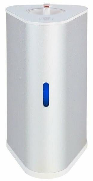 AquaVolta H2-Inhalator silber u H2-Infusor - Wasserstoff Inhalation u H2-Getraenke mixen 600