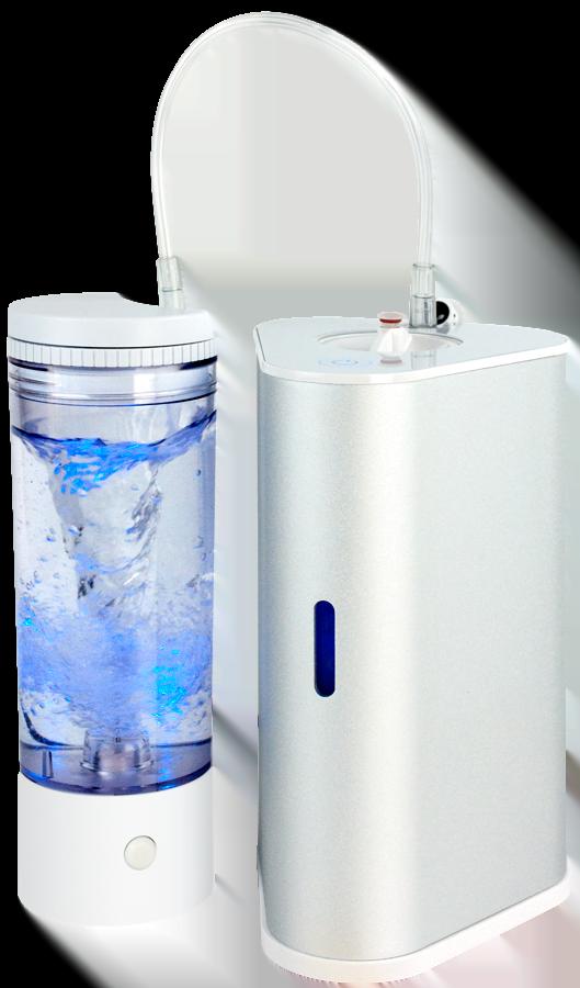 AquaVolta H2-Inhalator und H2 Vortex-Booster hydrogen Inhalation Generator o