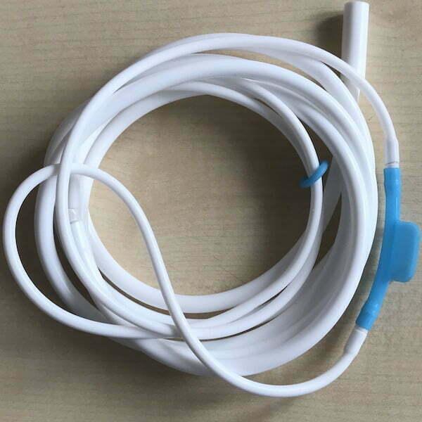 Nasenbrille Silikon Atebrille Waserstoff und Sauerstoff 600
