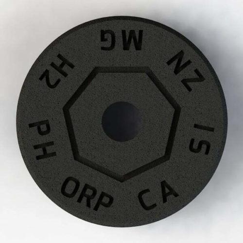 Minerade Sprudelkeramik zur Erhoehung des pH- und Senkung des ORP-Werts Rueck 600