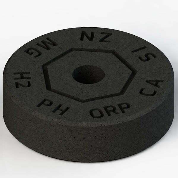 Minerade Sprudelkeramik zur Erhoehung des pH- und Senkung des ORP-Werts Rueck Perspektive 600