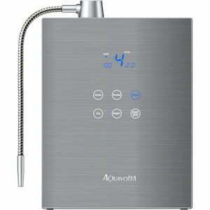 AquaVolta Exquisite Auftischionisierer zur Herstellung von basischem Wasserstoff-Wasser 300