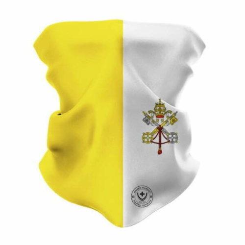 Atemschutzmaske FFP 2 fuer den Vatikan - evocell medical Nanofilter und Aktivkohlefilter - Funktionelles Rohrschaal