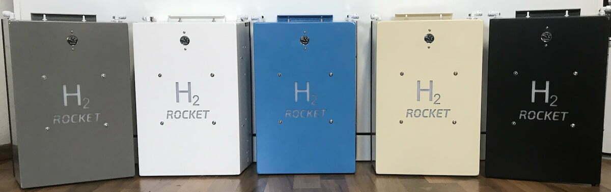 H2 Rocket 2.0 5 Farben - Wasserstoffwasser 5