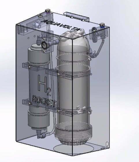 H2 Rocket undersink version final roentgen