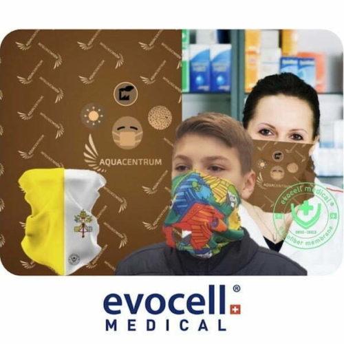 ecovell Medical Atemschutzmaske FFP2 mit Nanofilter + Aktivkohle AC 600