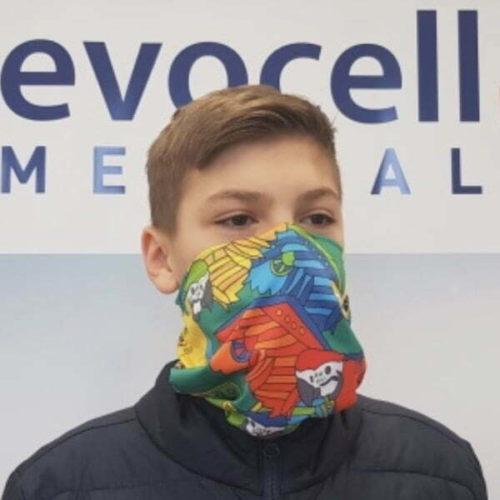 ecovell Medical Atemschutzmaske FFP2 mit Nanofilter und Aktivkohle 600