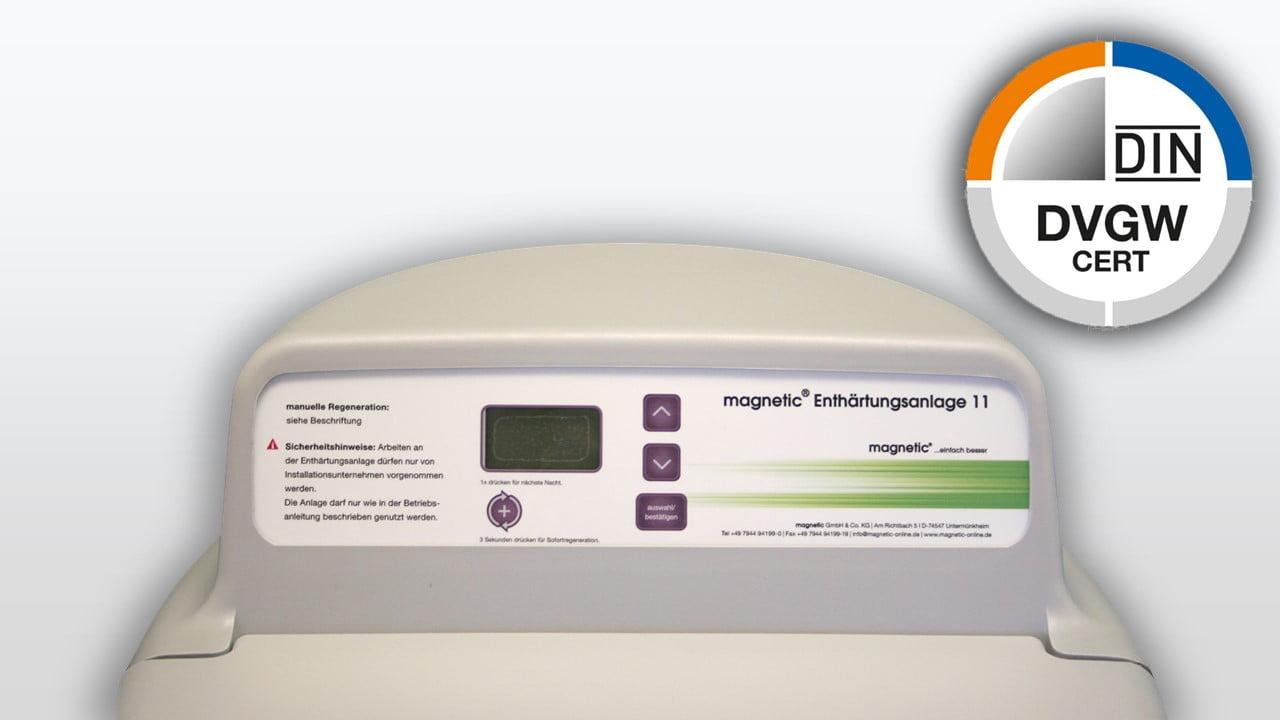 Magnetic ist DVGW geprueft - Deutscher Verein fuer Gas Wasser-1