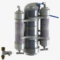 AquaVolta® OSMION 1000 GPD Umkehrosmose-Anlage mit Ph-Wert Anhebung und H2-Gas Anreicherung 400